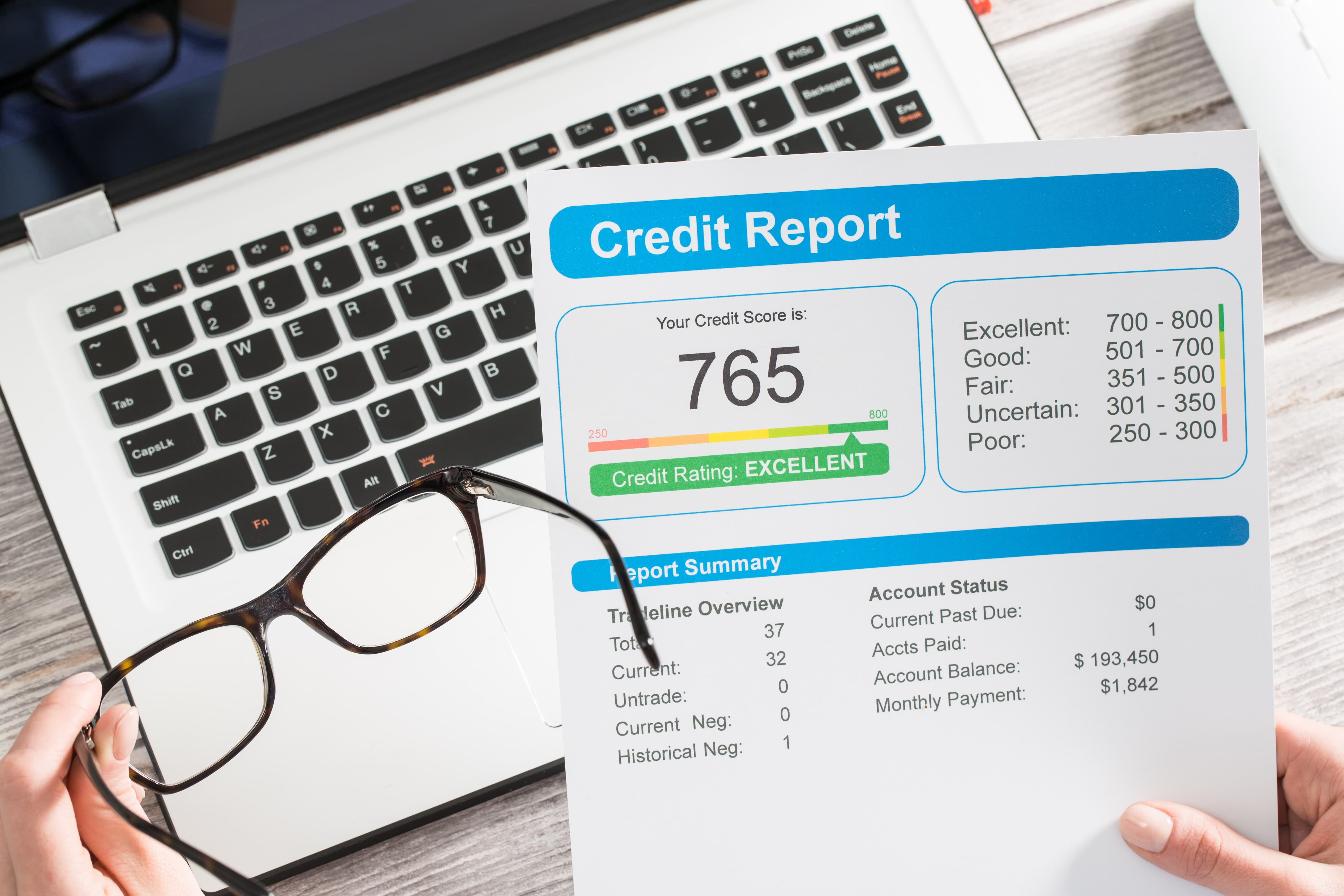 Getting Your Credit
